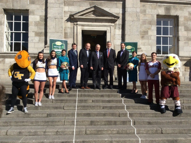 ALL SYSTEMS GO FOR AER LINGUS COLLEGE FOOTBALL CLASSIC